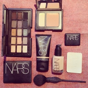 Nars goodies from my last trip to NYC.