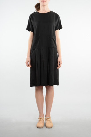 Obus Clothing Sihu Dress in Black.