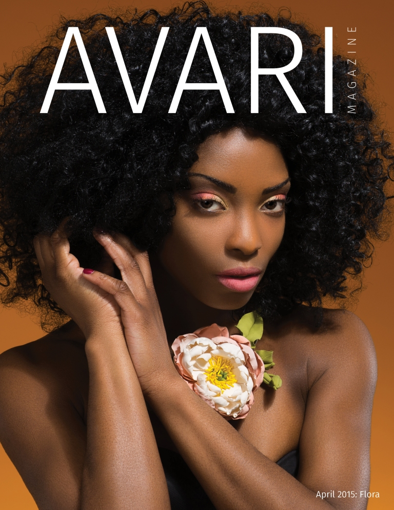 April Cover of Avari Magazine