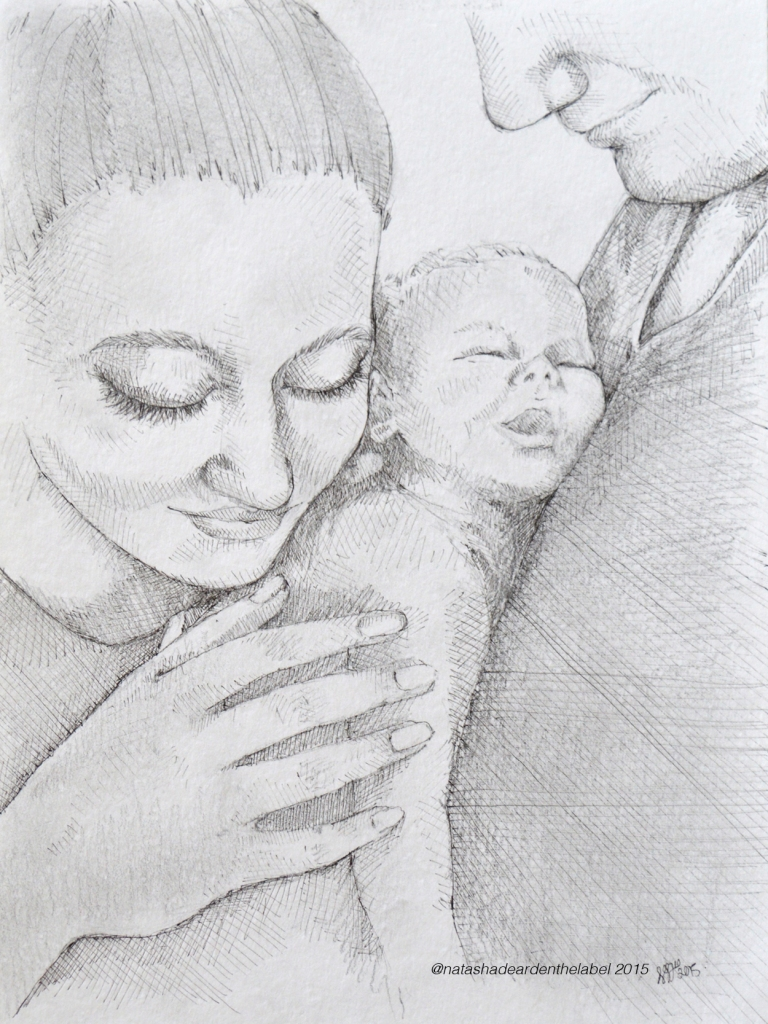 Izzy Illustration Baby Commission Natsha Dearden3