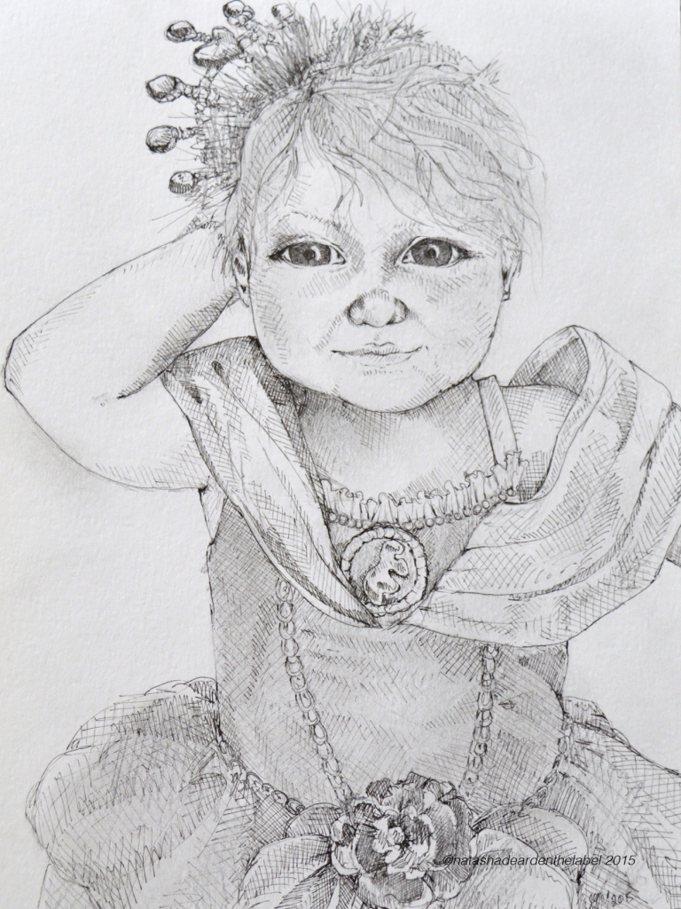 Izzy Illustration Baby Commission Natsha Dearden4