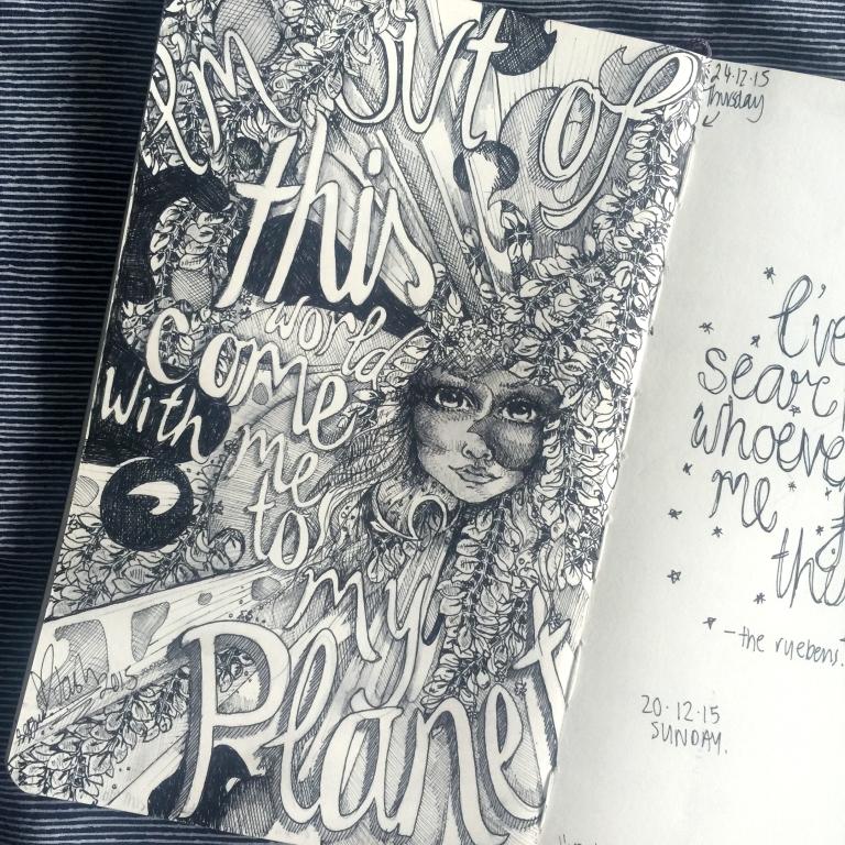Natasha Dearden Sketchbook 24.12.15