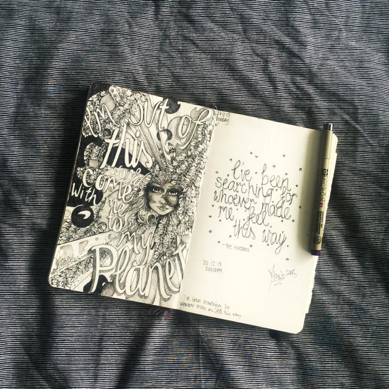 Natasha Dearden Sketchbook Double 24.12.15
